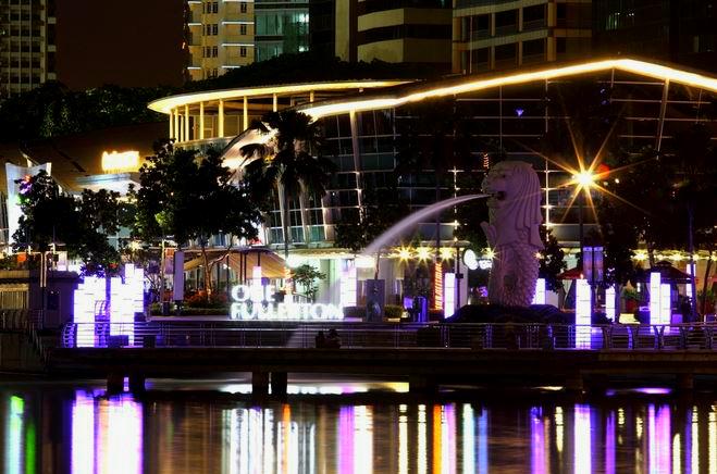 Lion City at Night