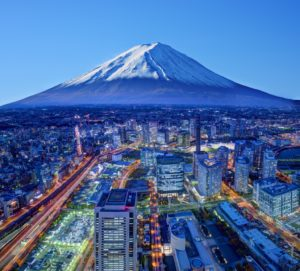 Cityscape of Japan