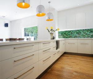 White Kitchen Benchtop