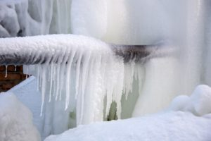 Frozen water jet system