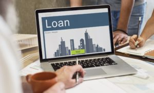 Loan displayed on the monitor