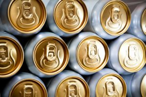 manufactured canned drinks