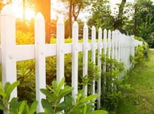 County style garden fence