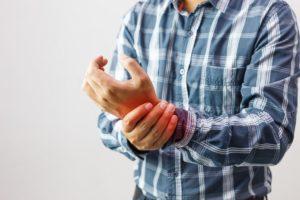 patient with arthritis