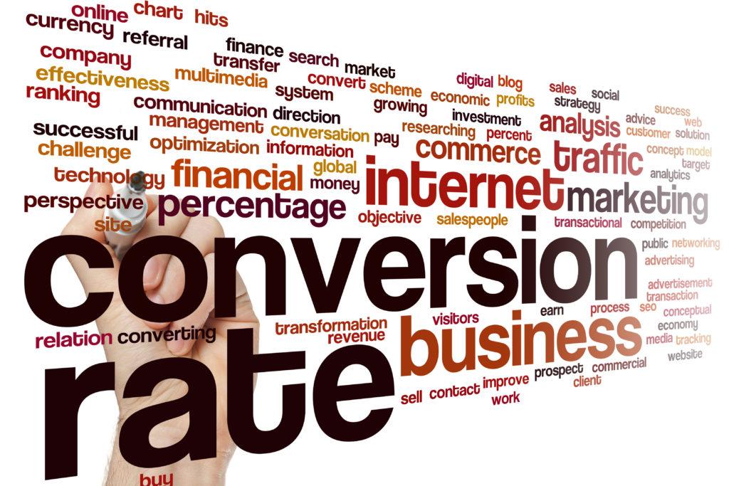 conversion rate concept