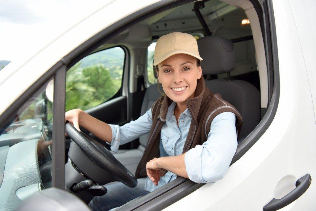 driving van