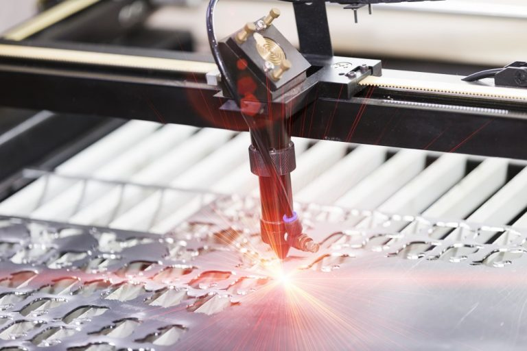 High precision laser cutting metal