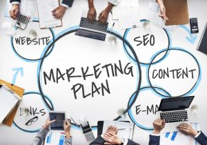 marketing plan concept