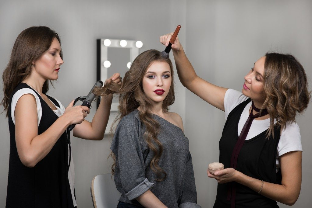 hair and makeup stylists
