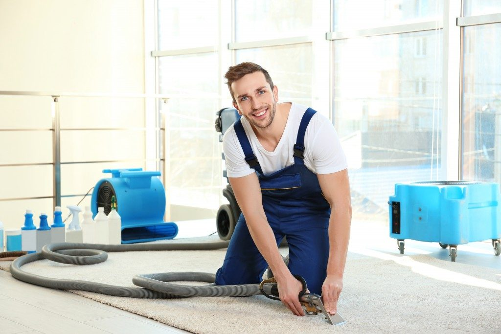 Hiring a professional cleaner with wide viriety of services