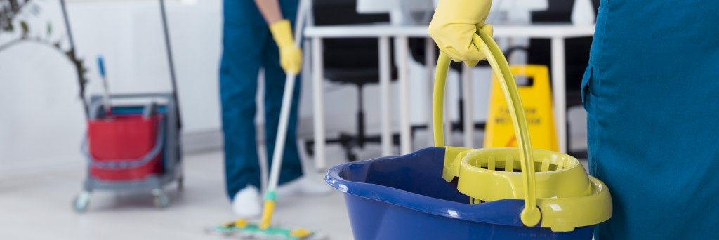 Cleaning provider offering multiple services