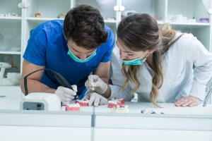 two dentists