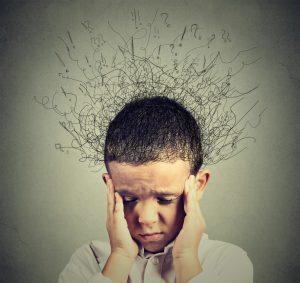 Kid feeling distressed