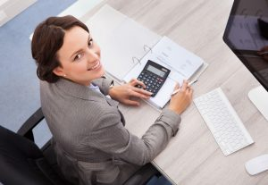 accountant computing and bookkeeping