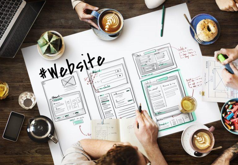 website layout planning