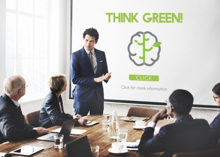 being green in the workplace