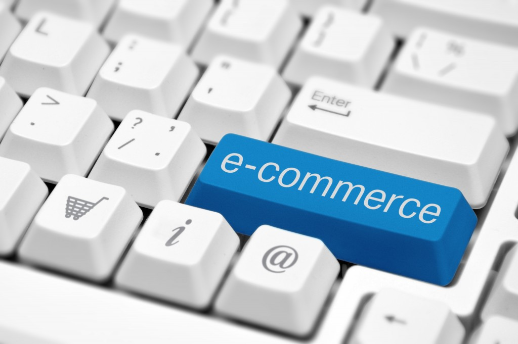 E-commerce concept button