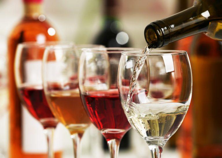 Different wines