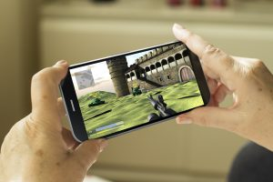 video game on mobila